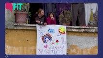 Italians Play Music & Sing From Balconies Amid Coronavirus Lockdown