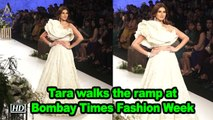Tara Sutaria walks the ramp at Bombay Fashion Week