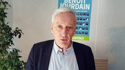 Municipal à Épinal : Réaction de Benoit Jourdain