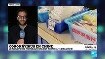 Coronavirus en CHINE : Les restrictions se lèvent peu à peu. Le nombre de nouveaux cas en forte chute
