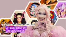 Just the tip: Drag Queen tricks for 3D kissable lips