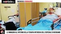 Coronavirus: le immagini all'interno del reparto di terapia intensiva di Bergamo | Notizie.it