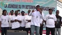 """Meeting de la JFPI/ Dahi Nestor: """"l'heure est venue d'arracher le pouvoir au'' parti au pouvoir.Gon """"ne fait pas le poids devant Gbagbo"""""""
