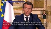"""Emmanuel macron: """"les factures d'eau, de gaz, d'électricité ainsi que les loyers seront suspendus"""""""