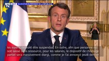 Emmanuel Macron annonce la suspension des factures d'eau, de gaz, d'électricité ainsi que les loyers pour les entreprises