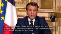 """Coronavirus : les """"suspensions des factures et des loyers"""" annoncées par Emmanuel Macron concernent les PME en difficulté"""