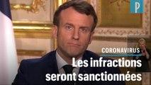 Macron : « Durant 15 jours, les déplacements seront très fortement réduits »
