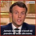 Coronavirus: Emmanuel Macron met un coup d'arrêt aux déplacements des Français