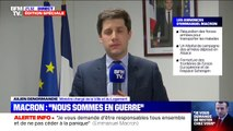 """Annonces d'Emmanuel Macron: Le ministre chargé de la Ville Gabriel Attal évoque """"des mesures de confinement"""""""