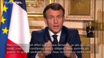 """France : des mesures drastiques pour """"gagner la guerre sanitaire"""" contre le coronavirus"""