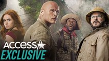 The Rock, Kevin Hart And More 'Jumanji' Stars Break Character In Silly Bloopers Reel