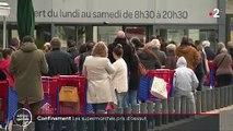 Pandémie : les supermarchés victimes de la panique des Français