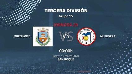 Previa partido entre Murchante y Mutilvera Jornada 29 Tercera División