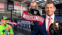 BREAKING NEWS WWE WRESTLEMANIA 36 NOT CANCELLED BUT WILL BE AT THE WWE PERFORMANCE CENTER BECAUSE OF THE CORONA VIRUS