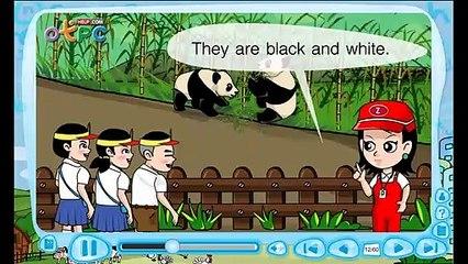 สื่อการเรียนการสอน At the zoo wild animals (ณ สวนสัตว์ส่วนของ สัตว์บก) ป.3 ภาษาอังกฤษ