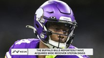 Former Vikings WR Stefon Diggs Reportedly Traded To Bills