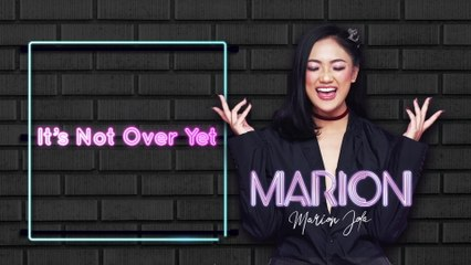 Marion Jola - It's Not Over Yet