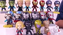 Giant Surprise Eggs With Avengers Endgame Super Heroes And LOL Surprise Egg Toys For Kids