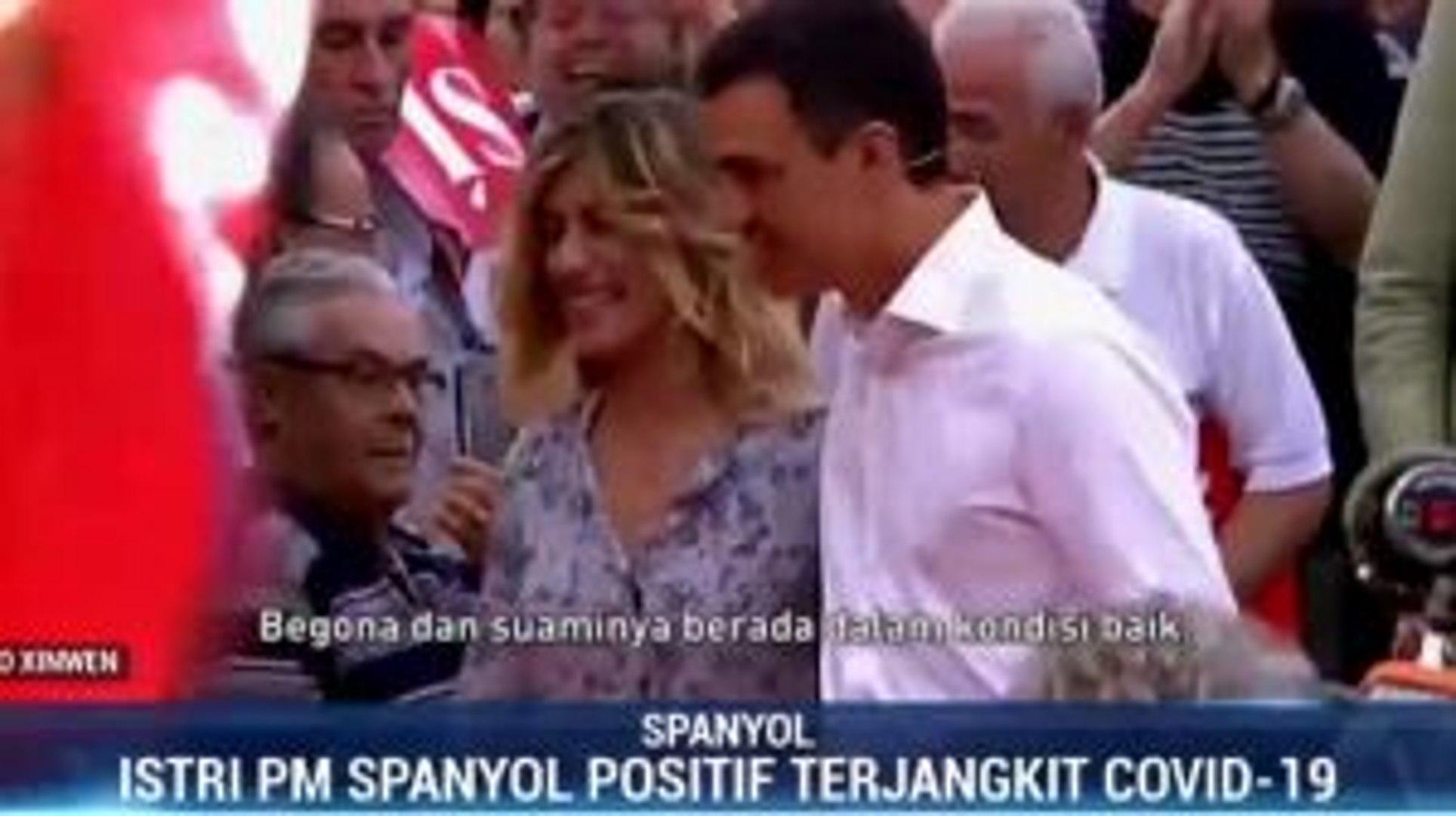 Istri PM Spanyol Positif Terjangkit Virus Corona