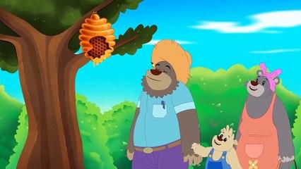 Goldilocks ve Uc Ayı - Çizgi Film Masal