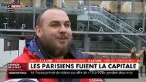 VIRUS - Depuis ce matin, les parisiens fuient la capitale en s'entassant dans les transports avec des images surréalistes