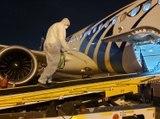 تطهير مطار الرياض بدقة غير عادية