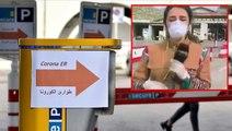 Muhabir, canlı yayında koronavirüs sebebiyle bir anda yere yığıldı