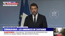"""Coronavirus: """"Des contrôles seront mis en place à nos frontières"""", déclare Christophe Castaner"""