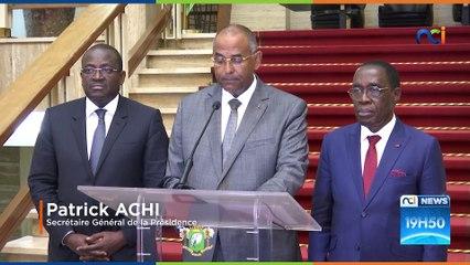 Les décisions du gouvernement Ivoirien relatives à la propagation du Coronavirus.