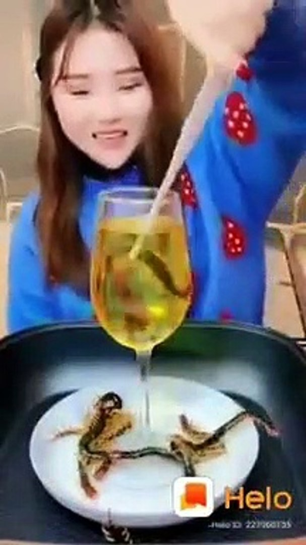 Corona virus  comes to  Chinese food habit