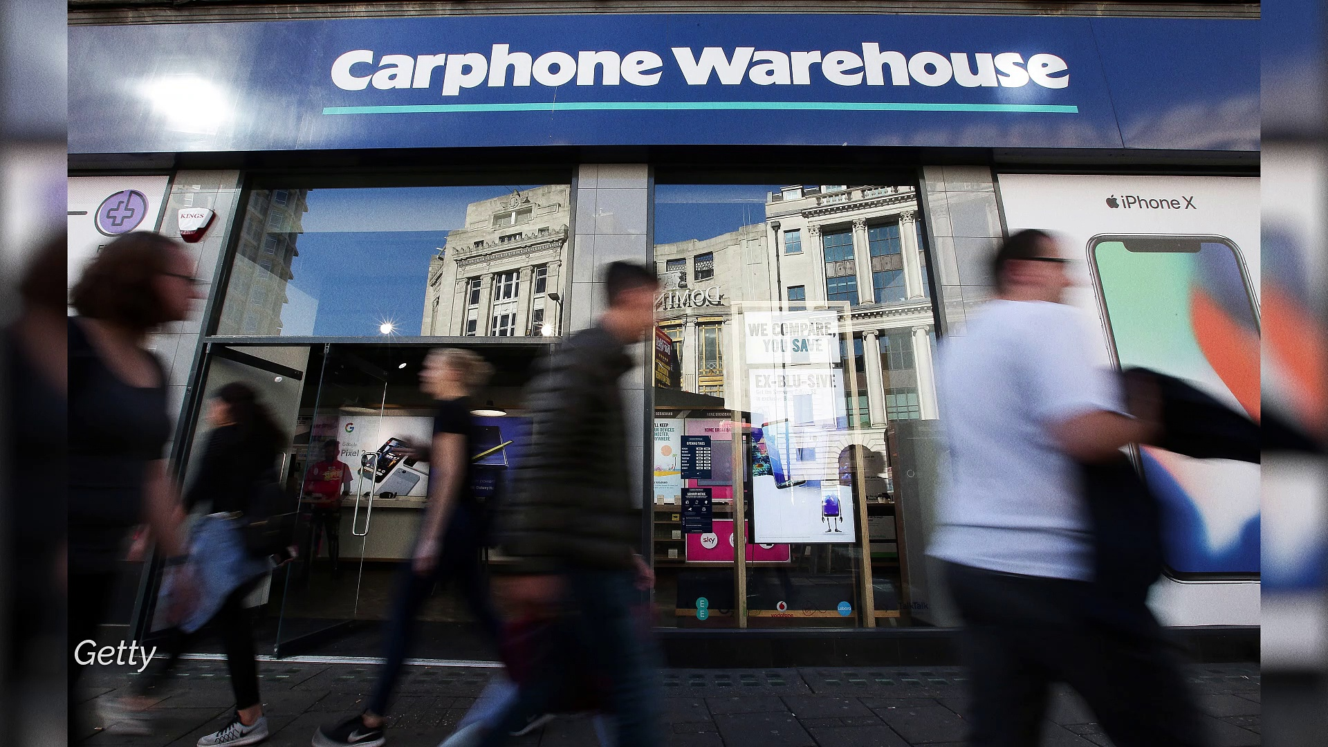 Carphone Warehouse is closing all UK stores – with 2,900 jobs to be cut