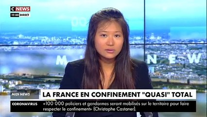 VIRUS - Regardez les images de Paris quasi désert quelques minutes après l'annonce du début du confinement en France