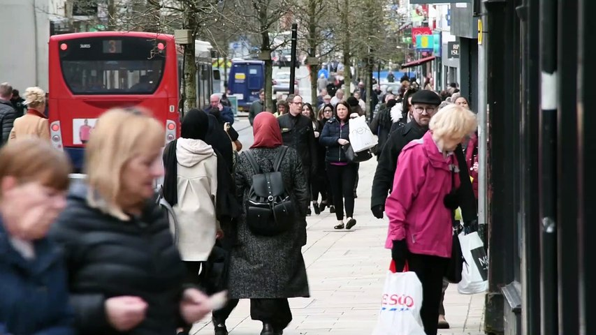 Coronavirus: People have been told to stay indoors if possible to stop spread of Covid-19 --- but are people listening or shopping as normal?
