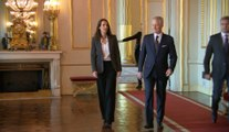 Sophie Wilmès a prêté serment à la tête d'un gouvernement de plein exercice mais limité