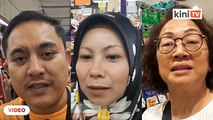 Rakyat Malaysia serbu pasaraya sehari sebelum perintah kawalan pergerakan