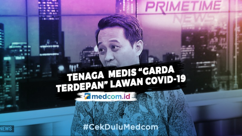 "Tenaga Medis ""Garda Terdepan"" Lawan Covid-19 – Highlight Primetime News Metro TV"