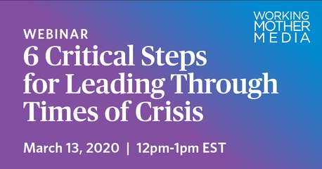 Six Critical Steps for Leading Through Times of Crisis Webinar Recording