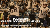 Tom Brady Career Records And Accomplishments As A Patriot