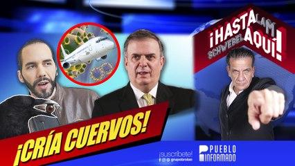 El presidente de El Salvador es un malagradecido y además mentiroso