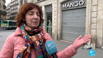 """Coronavirus en France : Reportage dans des """"rues quasi-désertes à Paris"""""""