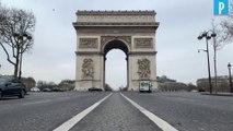 Coronavirus :  les rues de Paris désertées
