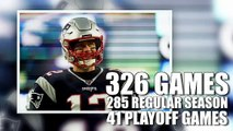 Tom Brady's Patriots Career By The Numbers