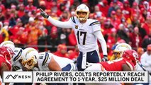 Philip Rivers, Colts Reportedly Reach Agreement
