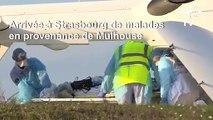 Coronavirus: à Strasbourg, arrivée par hélicoptère de malades en provenance de Mulhouse
