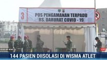 RS Darurat Wisma Atlet Rawat 144 Pasien Covid-19
