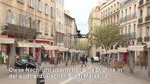 Coronavirus: Polizei-Drohne kontrolliert in Marseille