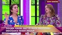 2. Sayfa sunucuları Müge ve Gülşen'i hangi ünlü tehdit etti?