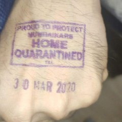 This Stamp to identify the Coronavirus infected person in Maharashtra