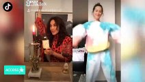 Ashley Tisdale & Vanessa Hudgens Rock Out To 'High School Musical' On TikTok