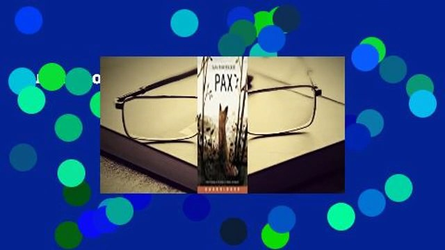 Full E-book  Pax  For Kindle